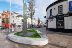 cds+Town centre ship sculpture