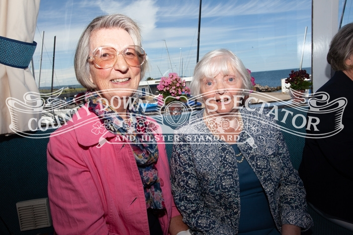 Friends Doris Hutchieson (left) and Carol Hamilton attended the event. P31-27-06-19