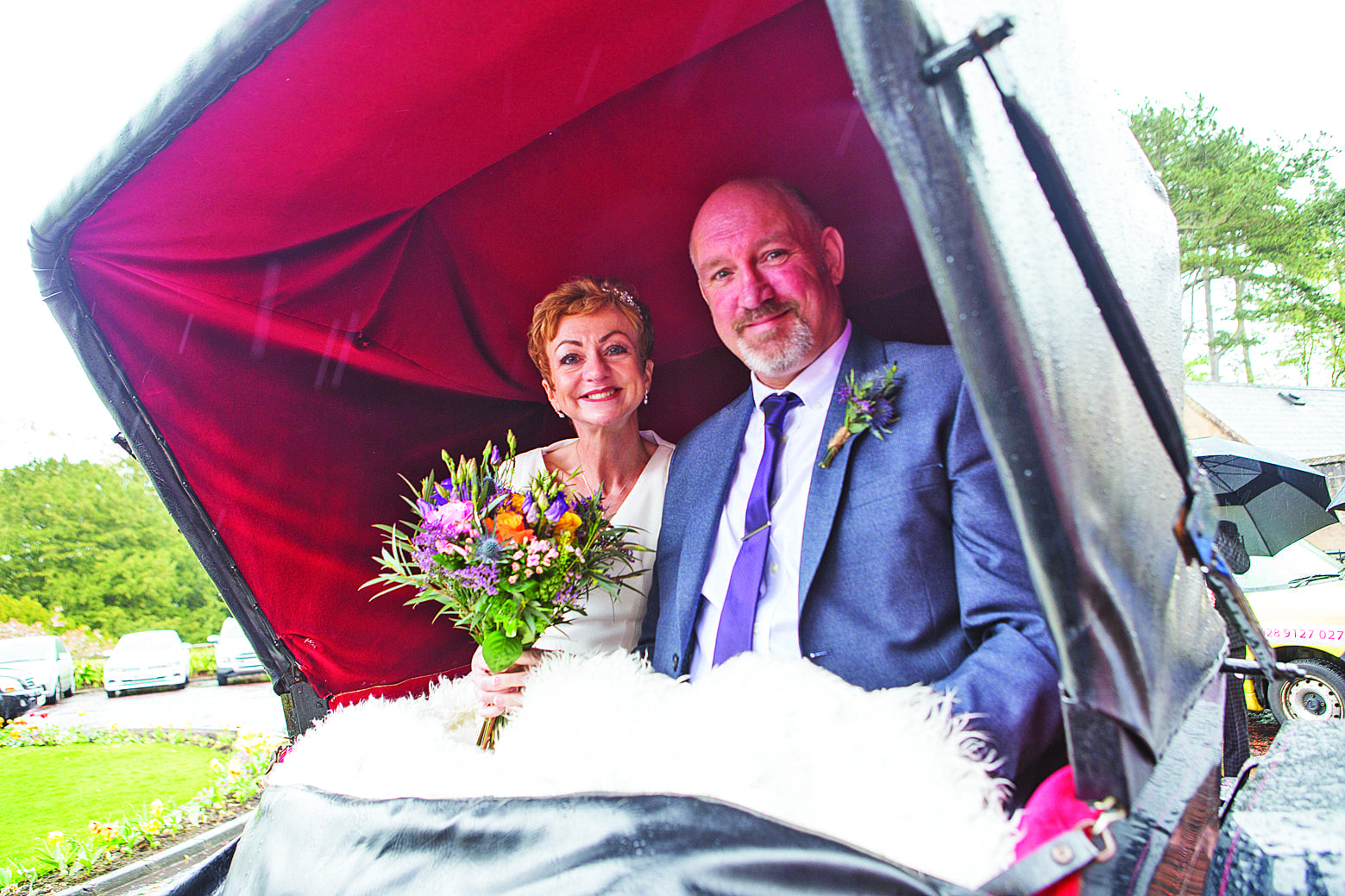 Day to remember for brave Bangor bride