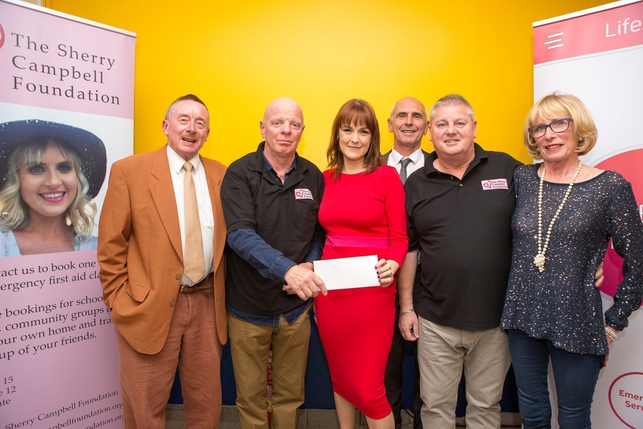 Sherry fundraiser reaches impressive £3,000