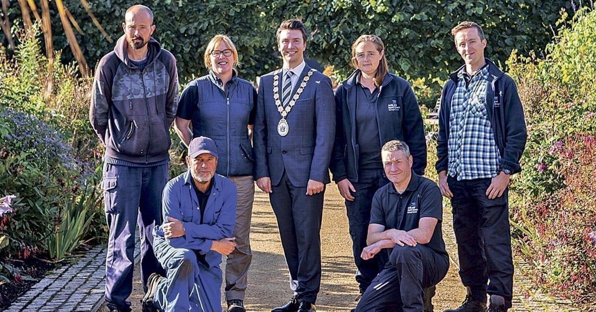 Walled Garden takes top award