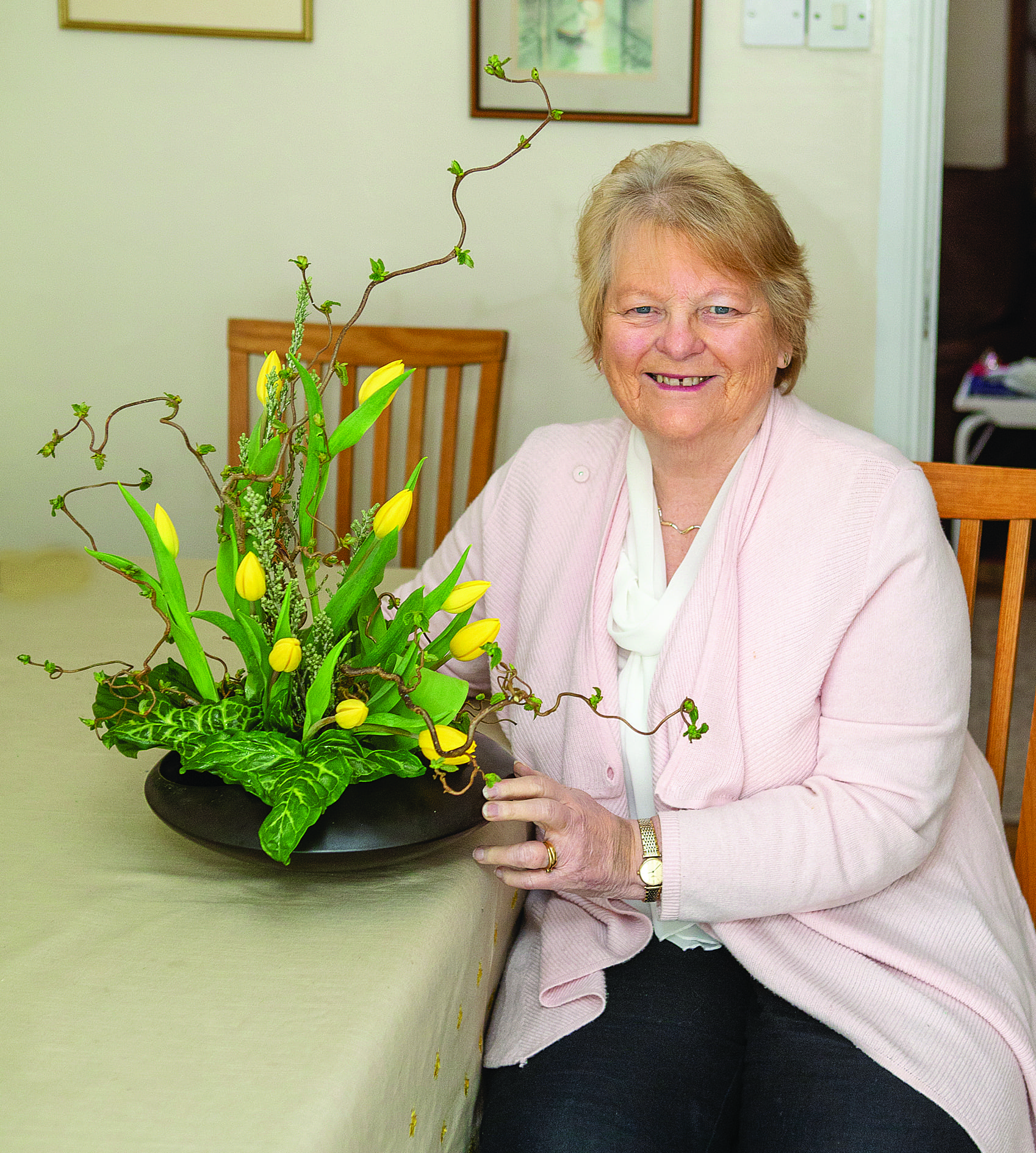 From Crawfordsburn to Jaipur!Margaret's scent of success takes her around the globe