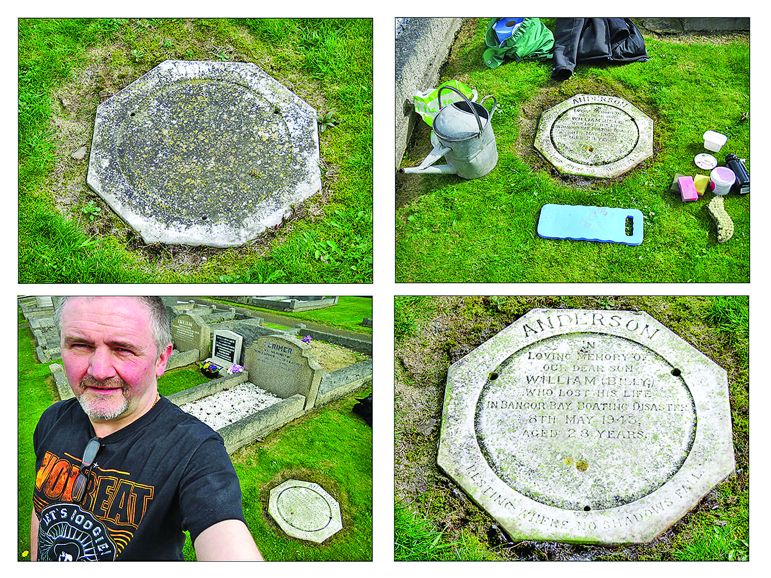 Bangor man discovers a hero in the family