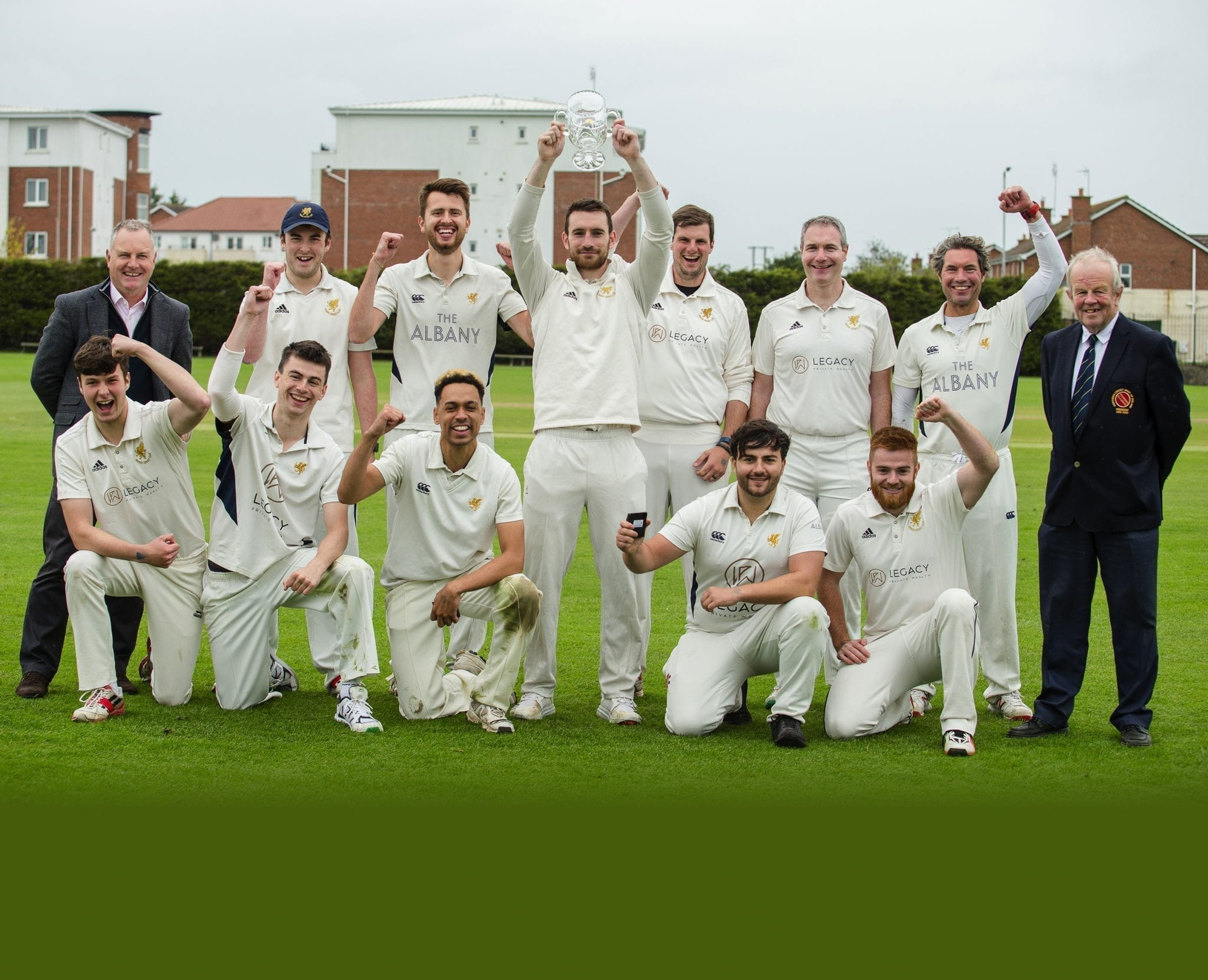 Bittersweet promotion for Bangor cricketers