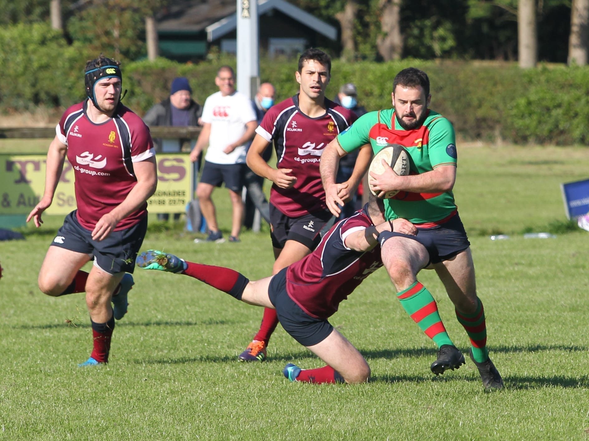 A further setback for North Down Rugby clubs