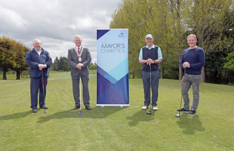 Mayor's Charities Golf event held in Bangor Golf Club