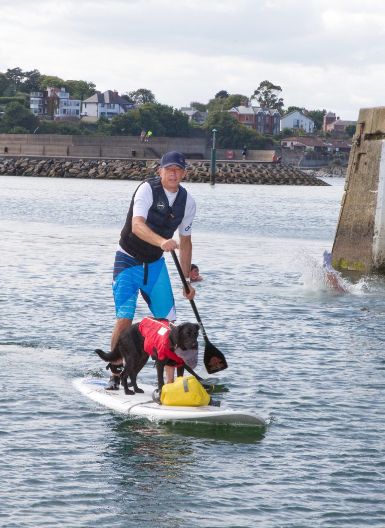 Paddleboarders encouraged to fully prepare before going out to sea